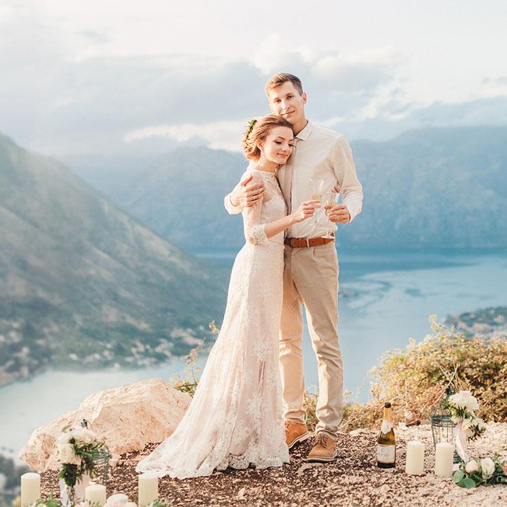 Весілля Анни та Дмитра в Чорногорії – Oh My Wed Day