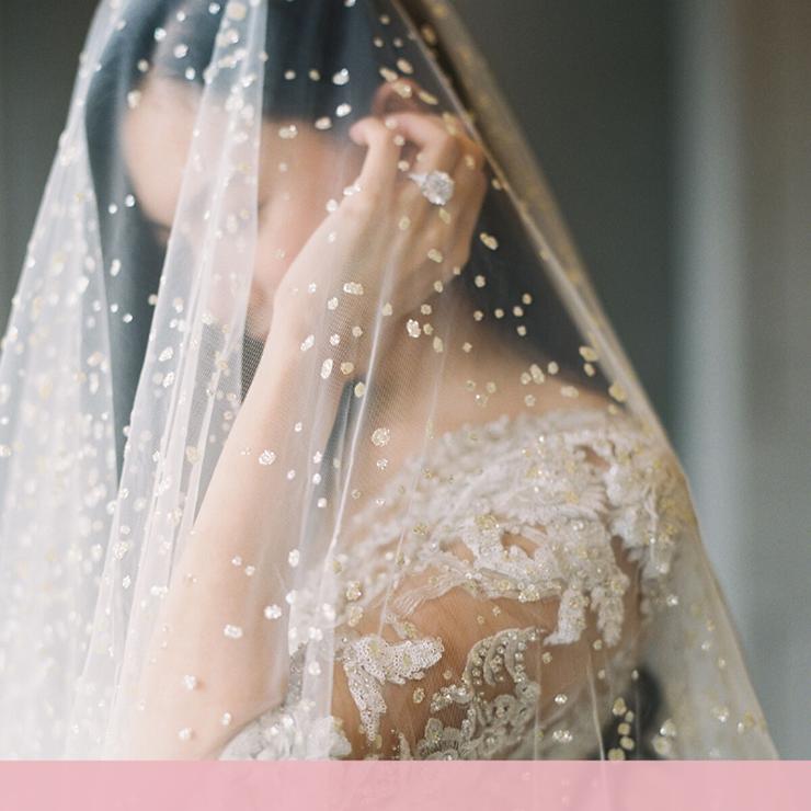 Выбираем фату: 30 необычных вариантов для смелых невест – Oh My Wed Day