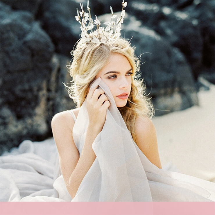 Альтернатива фате: короны, диадемы и тиары для невесты – Oh My Wed Day