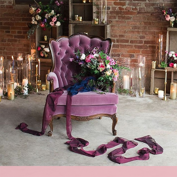 MoodBoard: все оттенки фиолетового для свадьбы – Oh My Wed Day