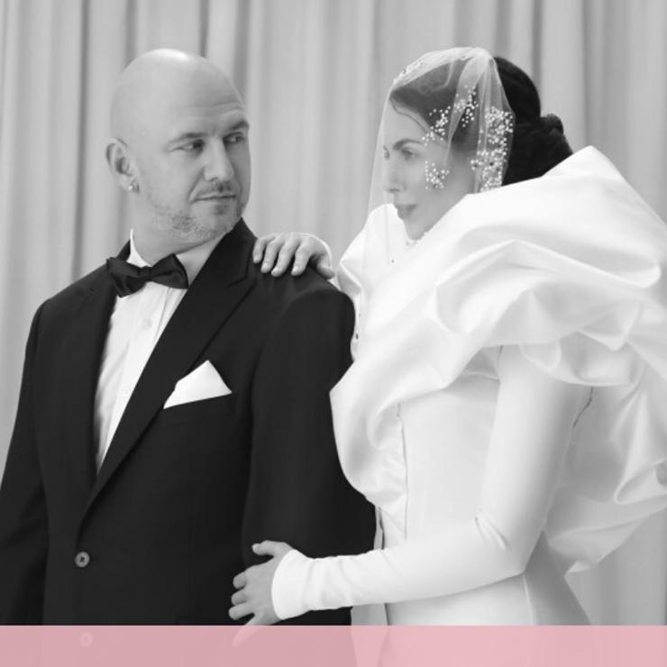 Звездная невеста: рассматриваем свадебное платье Насти Каменских – Oh My Wed Day