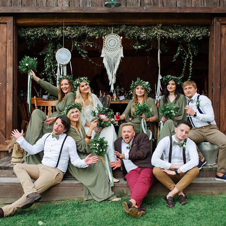 Без ума от бохо: яркая свадьба Катерины и Нестора – Oh My Wed Day