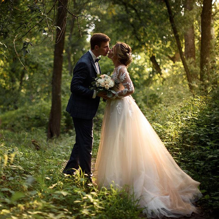 Очарование нежности: свадебная прогулка Алины и Никиты – Oh My Wed Day