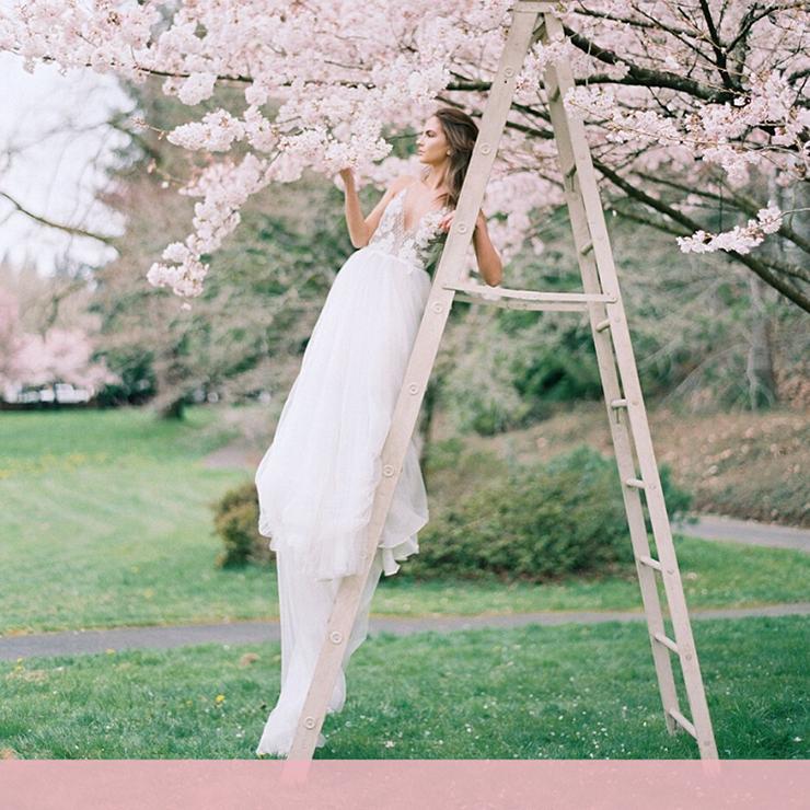 Цветущие сады: 45 свадебных идей для вдохновения – Oh My Wed Day