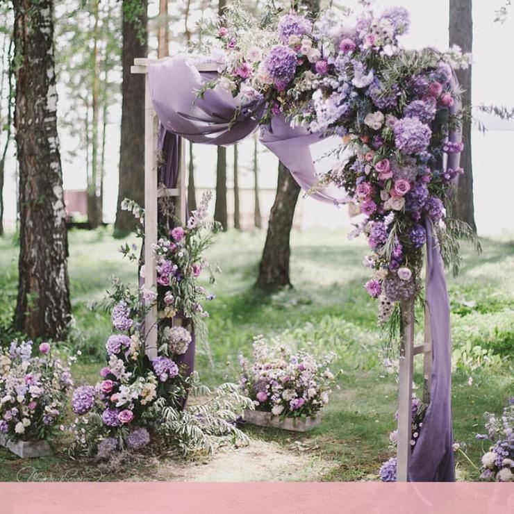 Свадебная арка: 30 примеров, от которых захватывает дух – Oh My Wed Day
