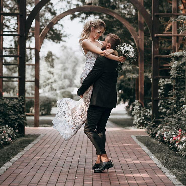 Свадебная прогулка Риты и Сергея в Межигорье – Oh My Wed Day