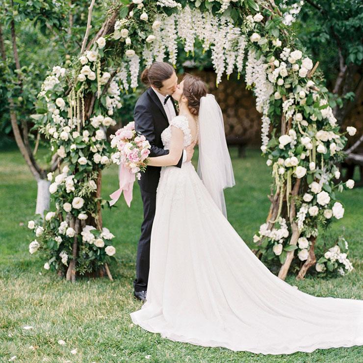 Сказка наяву: летняя свадьба Нади и Димы – Oh My Wed Day