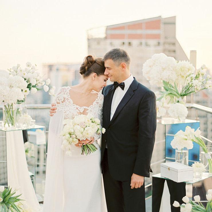 На высоте любви: идеальная свадьба Яны и Димы – Oh My Wed Day
