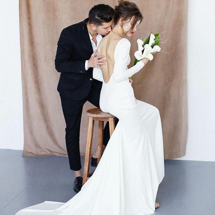 Кохання на двох: зйомка в стилі мінімалізм – Oh My Wed Day