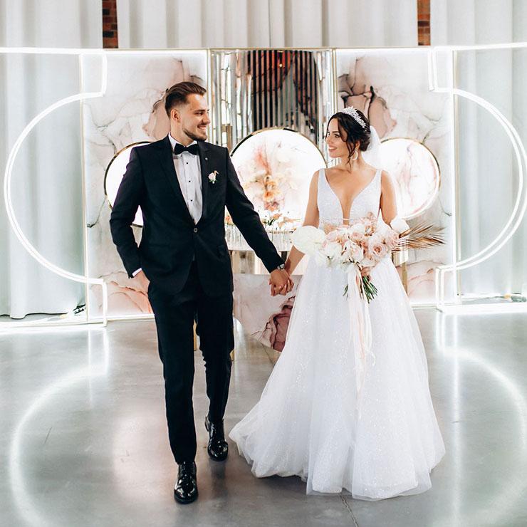На максимум любви: свадьба Анастасии и Максима – Oh My Wed Day