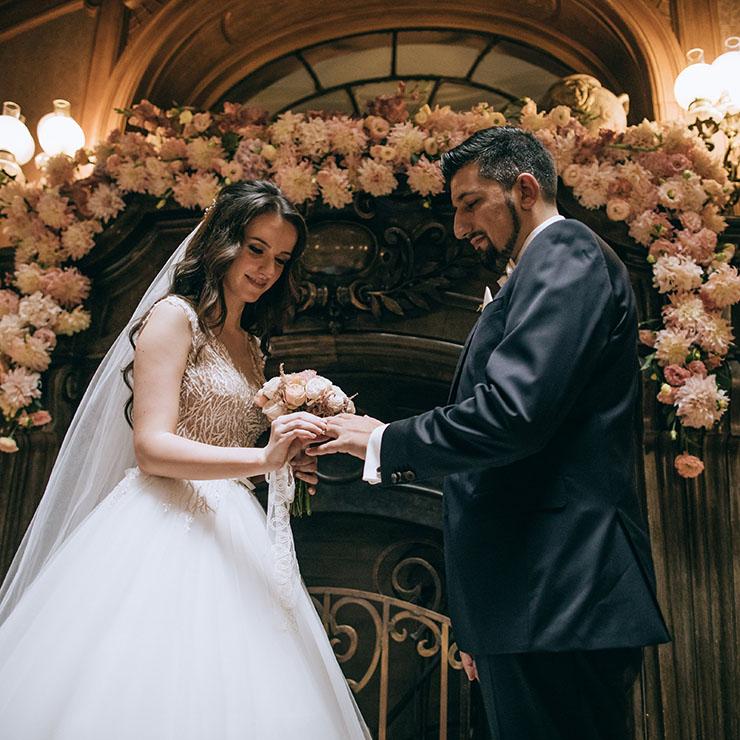 Сучасний шик: весілля Іванни та Андреаса – Oh My Wed Day