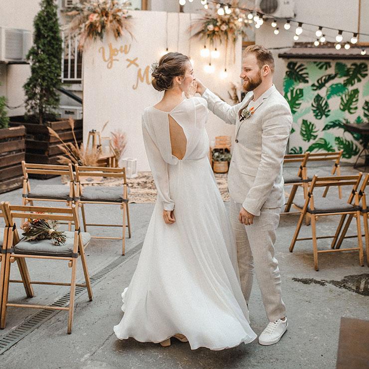 Весілля Юлії та Михайла в стилі бохо – Oh My Wed Day