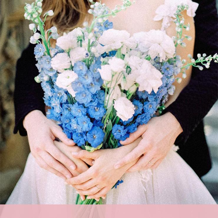 Свадебные букеты с длинными стеблями – Oh My Wed Day
