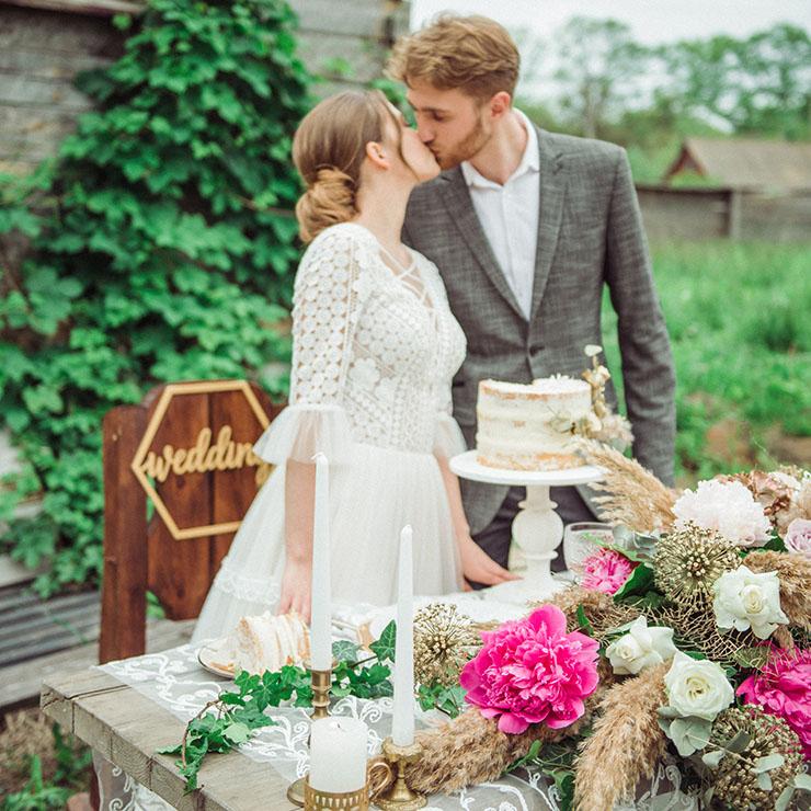 Побег от суеты: камерная свадьба Екатерины и Богдана – Oh My Wed Day