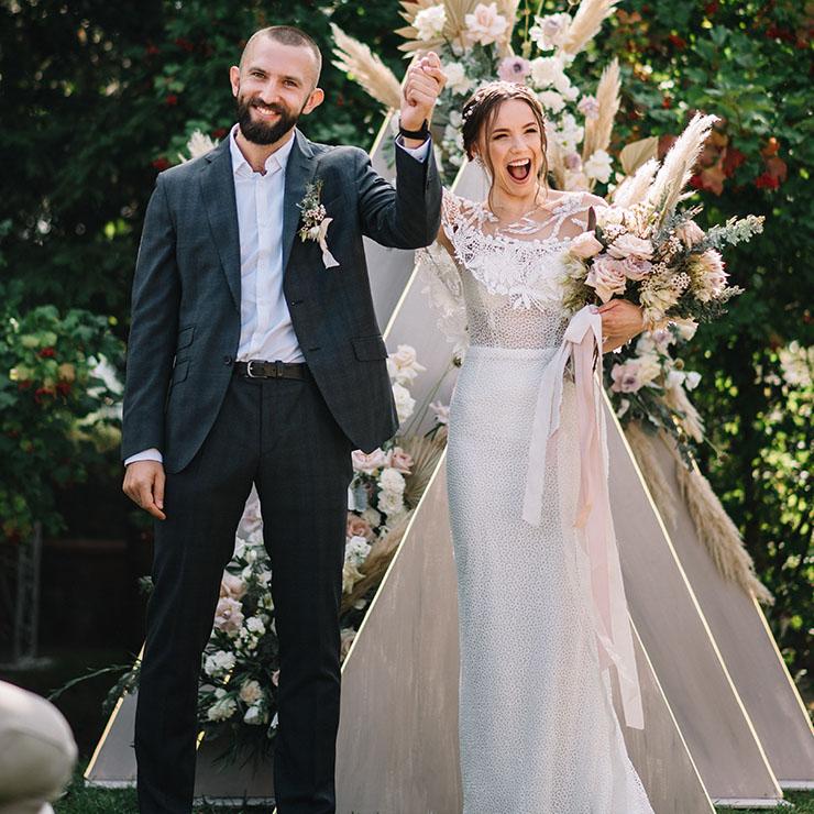 Boho Chic: весілля Зоряни та Сергія – Oh My Wed Day