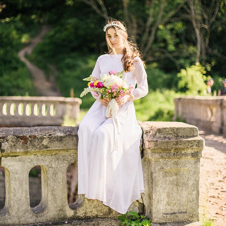 Ніжність без меж: ранок нареченої в Шарівському палаці – Oh My Wed Day