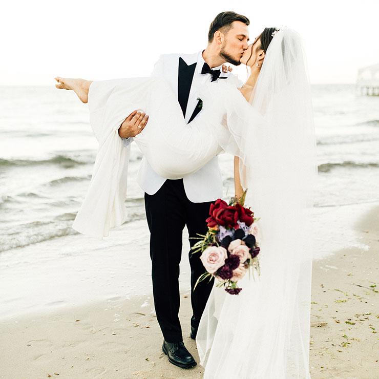 Любовь сквозь города: свадьба Саши и Михала – Oh My Wed Day