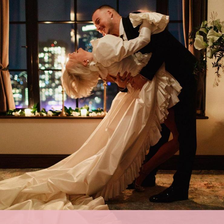 Звезды сошлись: фэшн-свадьба Каролин Вриланд – Oh My Wed Day