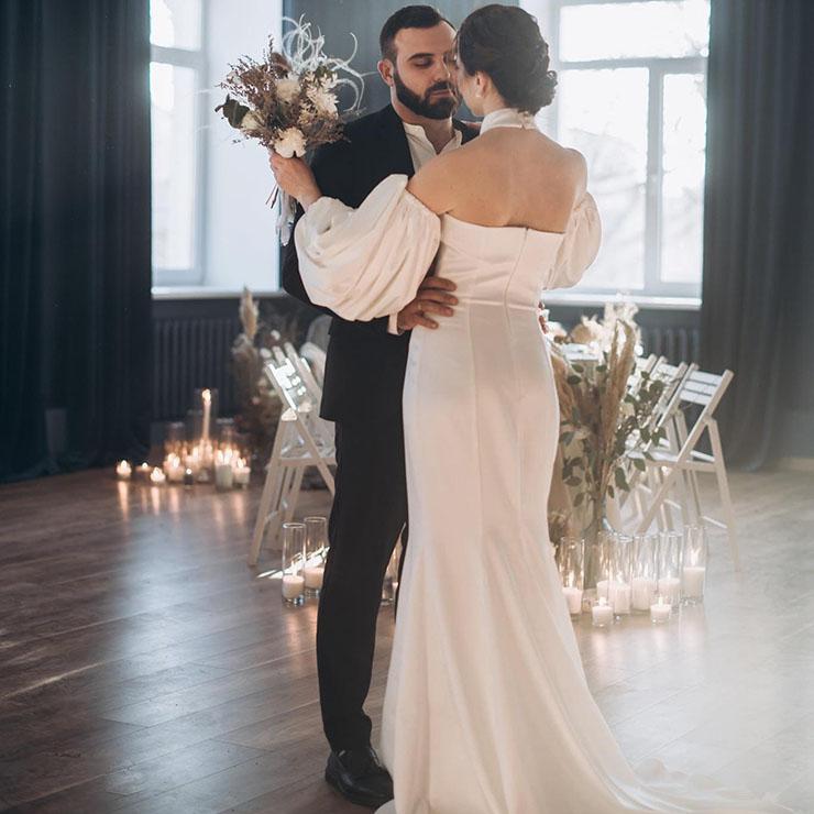 Магический свет: вдохновляющая камерная свадьба – Oh My Wed Day