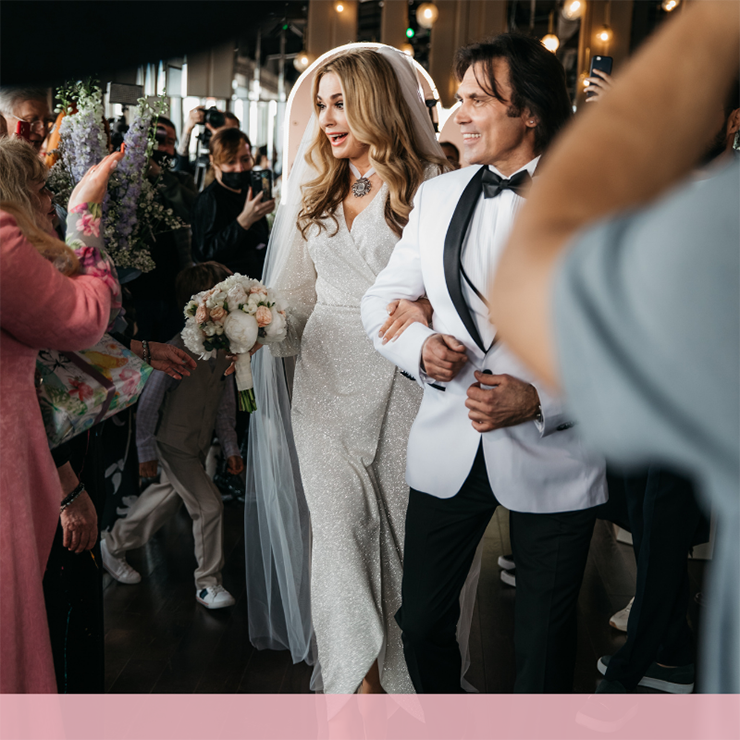 Срібне весілля Ольги Сумської та Віталія Борисюка – Oh My Wed Day