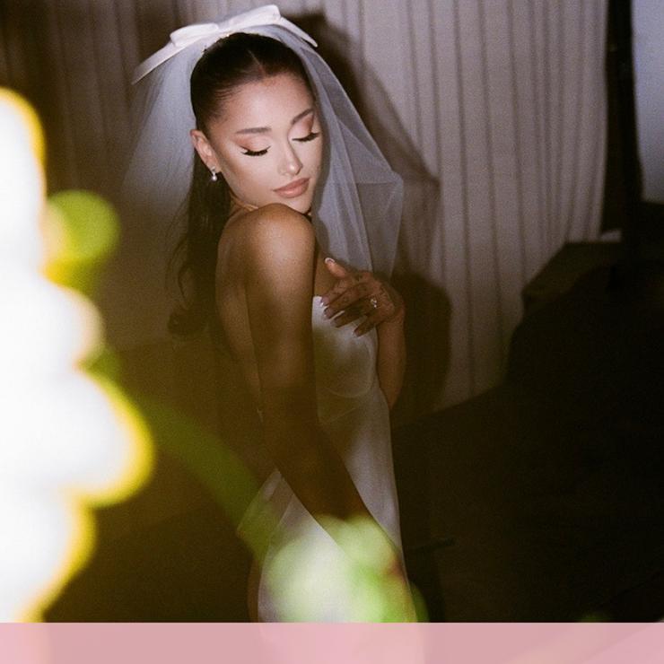 В деталях: свадебное платье Арианы Гранде – Oh My Wed Day